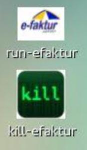 Tampilan shortcut file pada Desktop user