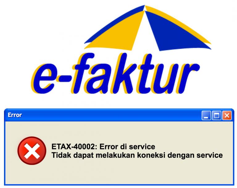 ETAX-40002 Error di service